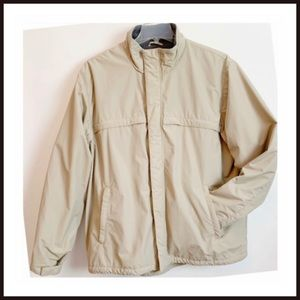Lands End Squall Fleece Lined Jacket XL
